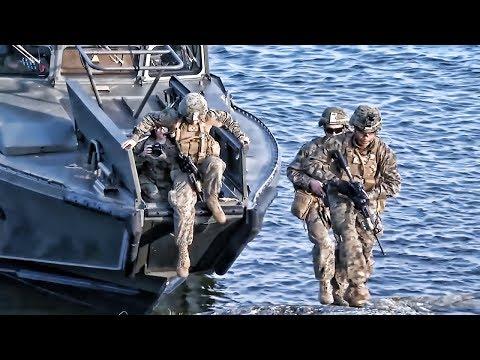 U.S. Marines & Swedish Marines • Amphibious Raid Exercise