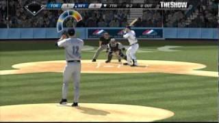 MLB 08 The Show (PS3) - RTTS 2018 Season, SP, Game 1 Highlights