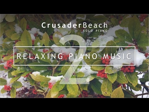 Relaxing Piano Music (2) | Relaxing Music for Christmas with Snow Scenes and Nature Sounds