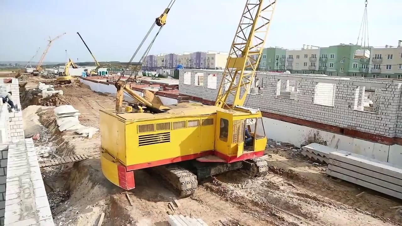 Общий вид строительства  Северная Мыза 18. 09. 2017