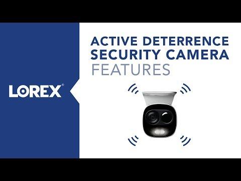 Lorex 4K Active Deterrence Security Cameras