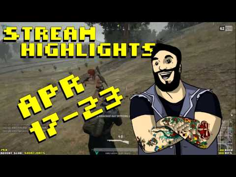 Twitch Highlights April 17th - April 23rd 2017
