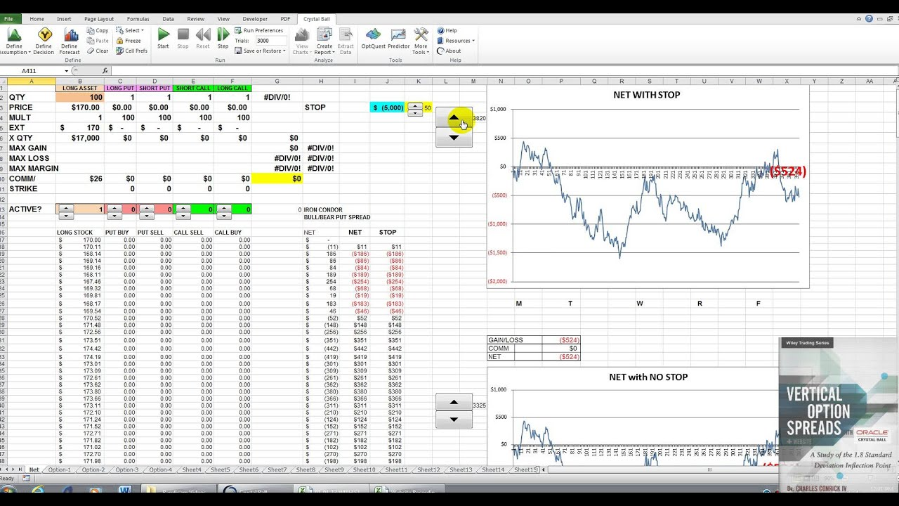 Option trading in excel