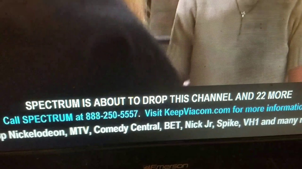 Spectrum is dropping viacom channels!