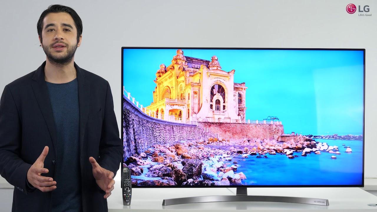 Prezentare video LG SUPER UHD SK8500 - YouTube