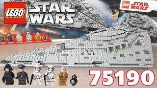 Обзор LEGO Star Wars 75190 - First Order Star Destroyer