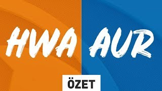 HWA GAMING ( HWA ) vs Doğuş Uni Aurora ( AUR ) Maç Özeti | 2019 Kış Mevsimi 1. Hafta