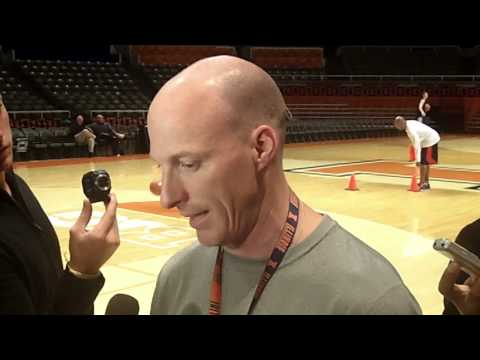 Coach Groce Practice Interview 10/23/13