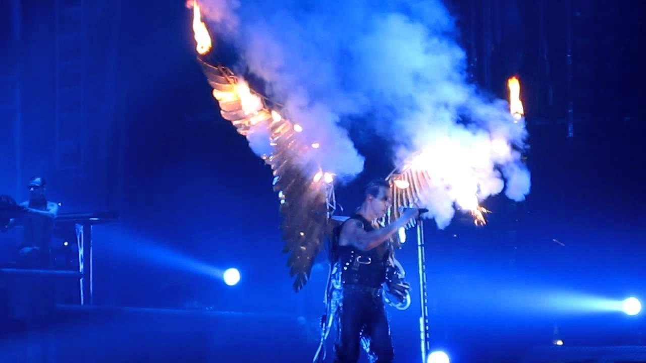 Rammstein Wings On Fire Youtube