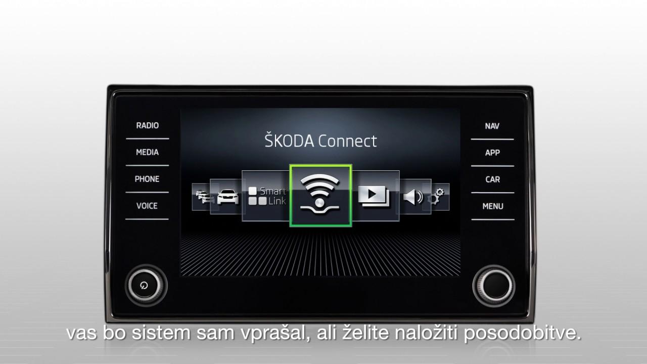 ŠKODA CONNECT: Online Map Update