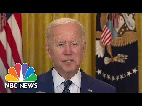 Biden Signs Executive Order Addressing 'Harmful Actions' Russia Has Taken Against U.S.   NBC News