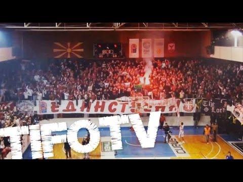 CITY PARK BOYS .. Supporters of Rabotnicki Skopje