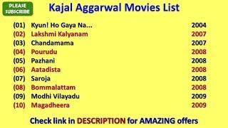 Kajal Aggarwal Movies List