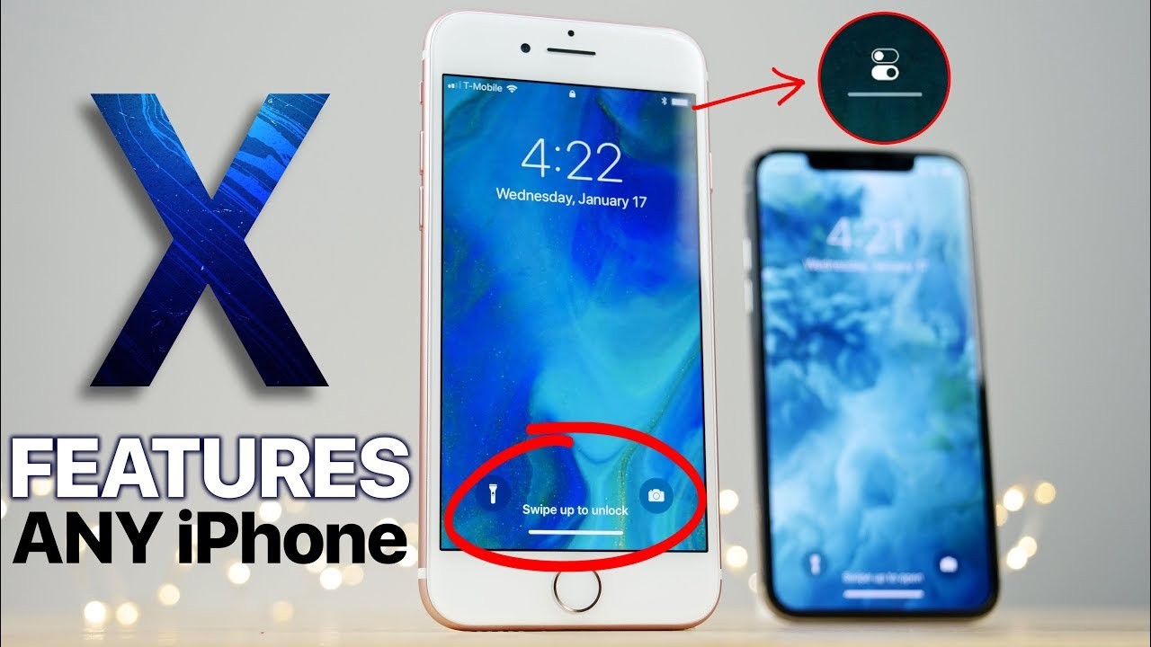 best sneakers a4fcf 7b9e9 Get iPhone X Features on ANY iPhone!
