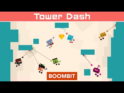 Tower Dash by BoomBit Games | iOS App (iPhone, iPad) | Android Video Gameplay‬
