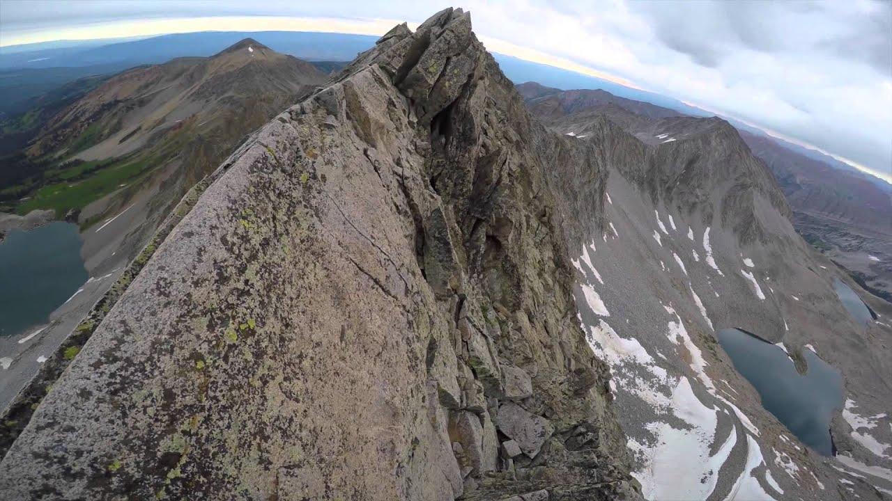Capitol Peak Climb - Knife Edge Colorado 14ers Summit - YouTube e5ffc27b0