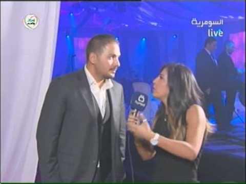 Ramy Ayach - New Year Eve 2012 at Forum De Beirut - Interview