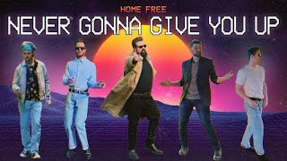 Home Free - Never Gonna Give You Up (Music Video)