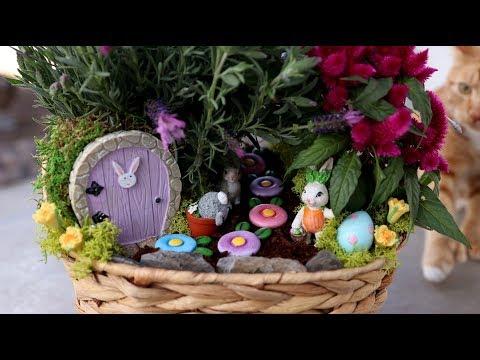 Mini Easter Garden! 🐣🐰🌿 // Garden Answer