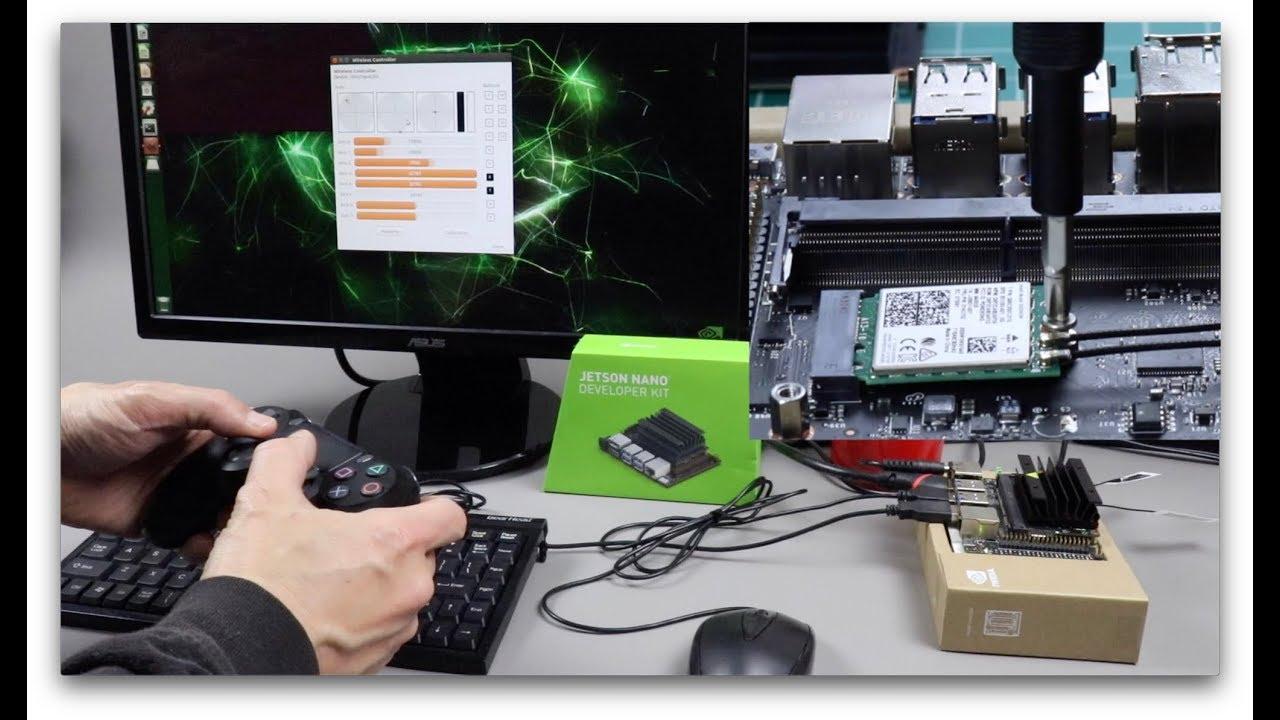 Jetson Nano + Intel Wifi