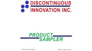 Discontinuous Innovation Inc. Product Sampler