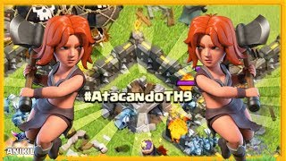 ¡¡ SORPRESA !! - ATACANDO TU ALDEA TH 9 - #71 - CLASH OF CLANS