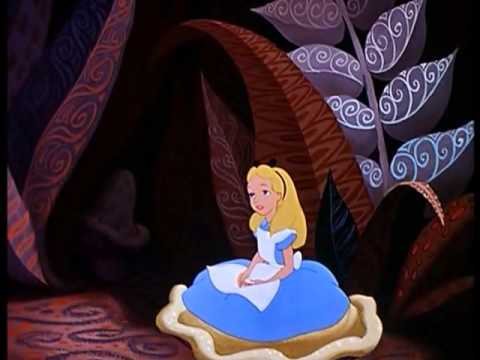Alice au pays des merveilles a e i o u le po me de la - Decoration alice aux pays des merveilles ...