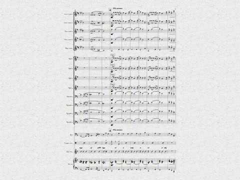 """Попурри """"Великая Победа"""" -партитура для биг-бенда"""