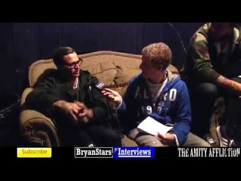 The Amity Affliction Interview Blessthefall Tour 2014