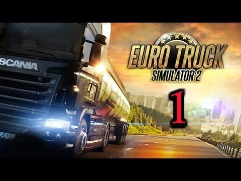 Euro Truck Simulator 2: За рулем по Европе | Часть 1 | дальнобойщики