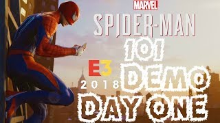 Spider-Man PS4: 101 - Hands On Experience With the Marvel's Spider-Man E3 2018 Demo (Day 1)