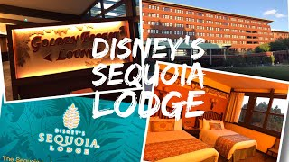 Disney's Sequoia Lodge Hotel - Disneyland Paris - Lake Side Room tour and hotel Tour - Golden Forest