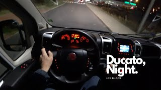 Fiat Ducato 2.3 MultiJet II 130 HP Night | 4K POV Test Drive #109 Joe Black