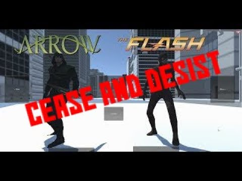 Arrow and The Flash - Fan-Made Game