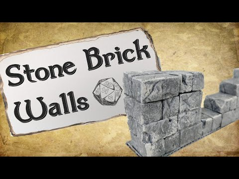How To Make Stone Walls for D&D | Feat. Impulsive Artistry