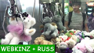 Webkinz + Russ Bear Claw Machine Wins