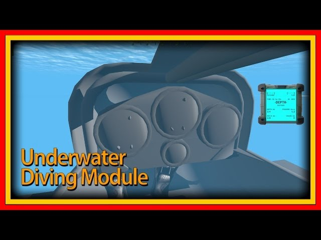 Underwater Diving Module - Update 11 - SDV, Limpet Mine, Dive Computer and Watch