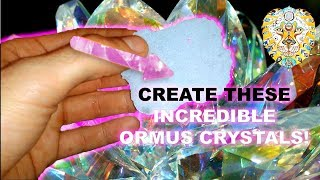 HOW TO MAKE ORMUS CRYSTALS! - Formulating crazy powerful Ormus! - Secret recipe!