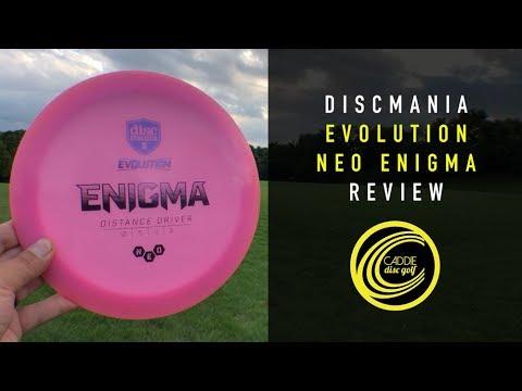 Discmania Evolution Neo Enigma Review   Caddie Disc Golf
