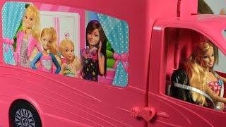 Барби кемпер - Трейлер для путешествий /  Barbie Camper - Барби сестры / Barbie Sisters - BJN62