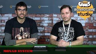 [Lucca Comics & Games] Boardgame Studio: Monad System