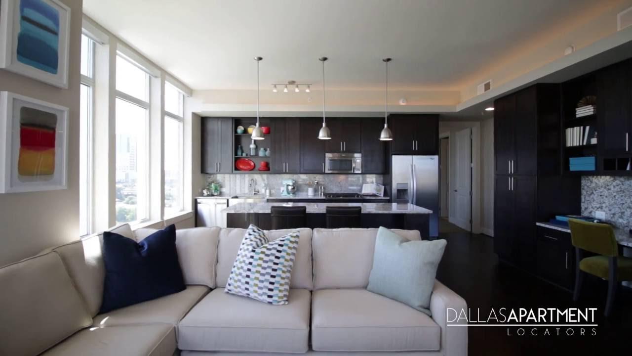 The Jordan Uptown 2 Bedroom   Uptown Dallas Apartment Locators   YouTube