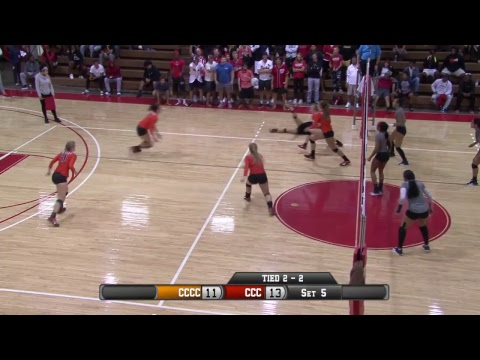 Volleyball CCC vs Cowley County