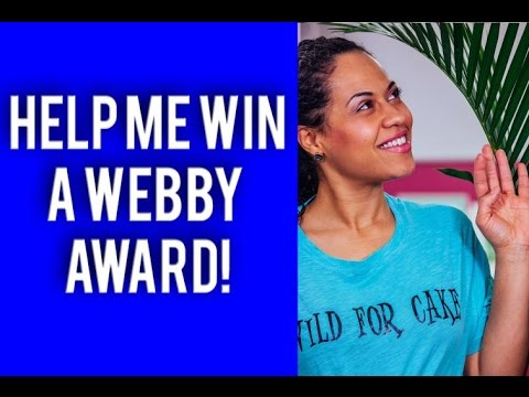 Webby Award Nomination! How To Cake It is up for a People's Voice Award!