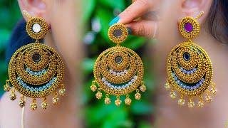 Party wear Jhumka | Handmade jewelry | Paper earring | DIY earring | Fashion 2019 | Stylish Jhumka