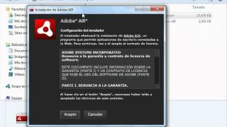 Introducción a Adobe AIR