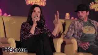 Scream Panel With Neve Campbell Skeet Ulrich and Matthew Lillard