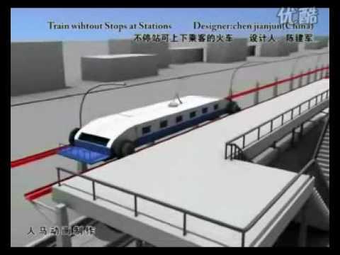 Innovación tren en China