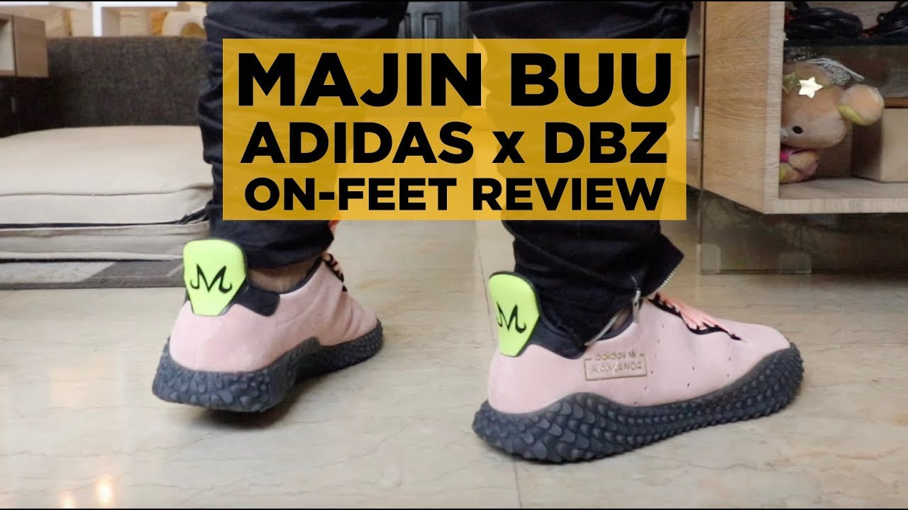 ON-FEET REVIEW  ADIDAS x DBZ MAJIN BUU KAMANDA!! - YouTube f4eb76f06