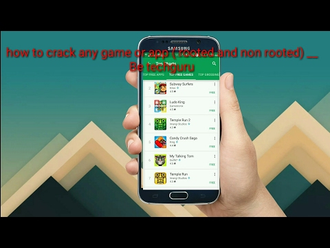 How Crack Any Android Paid/ Premium/ Pro Apps Free For Lifetime  (rooted And Non-rooted) Unlimited $